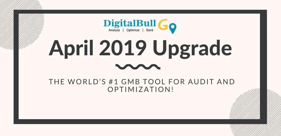 DigitalBull GO April 2019 Upgrade 1