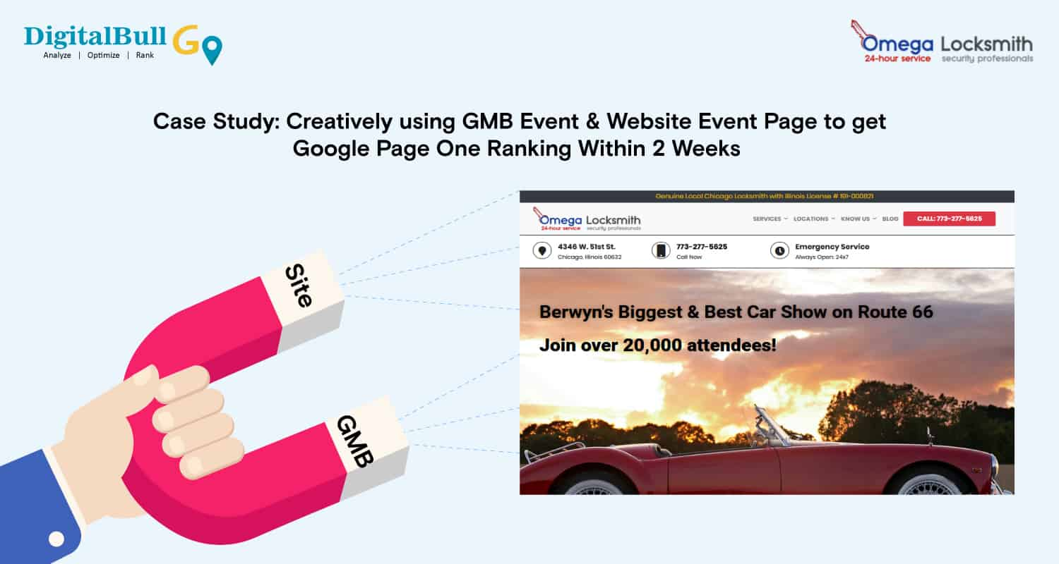 Case Study - GMB Event Page Cover