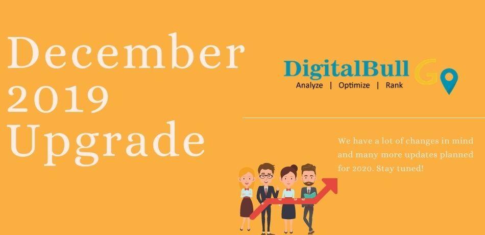 DigitalBull GO December 2019 Upgrade 1