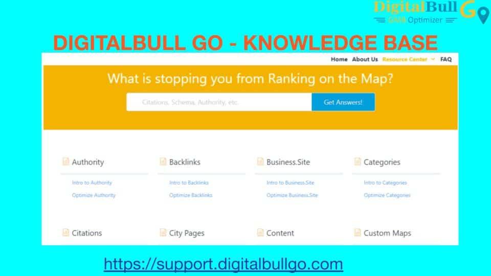 Digital Bull Go Knowledge base