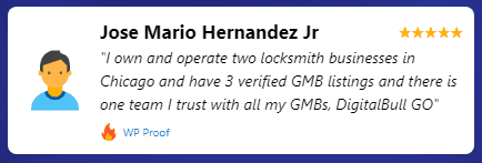 DigitalBull GO - WPProof -Jose Hernandez Testimonial