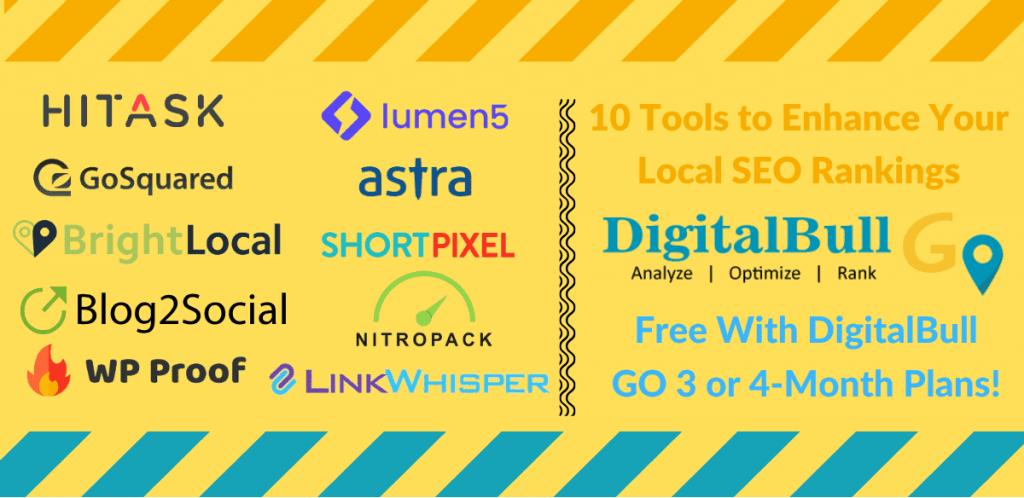 DigitalBull GO - 10 Tools for Rankings