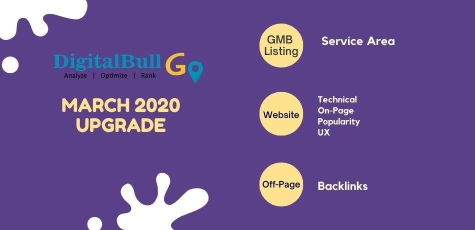 DigitalBull GO March 2020 Upgrade 1