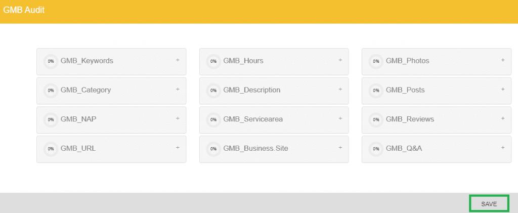 DBG Local SEO Audit Tool Save GMB Audit