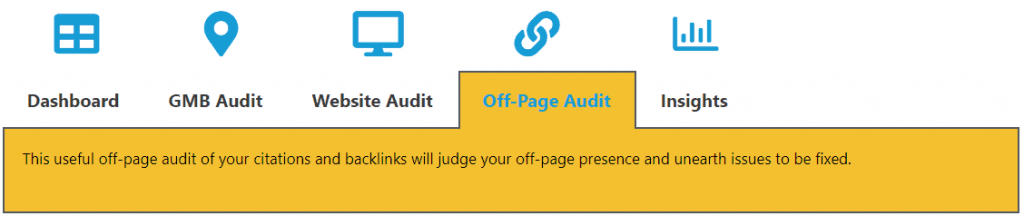 off-page audit - digitalbull go tool