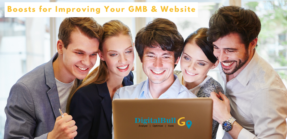 DigitalBull GO Boosts for Improving Your GMB & Website 2