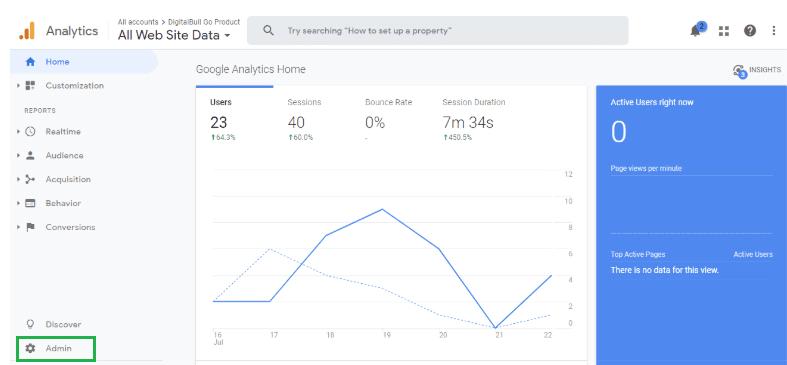 DigitalBull GO How to Integrate Google Analytics With DigitalBull GO 5