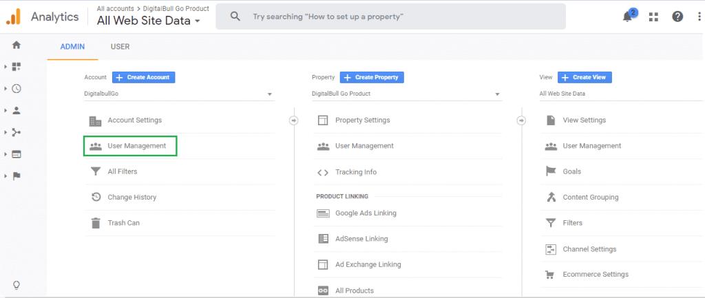 DigitalBull GO How to Integrate Google Analytics With DigitalBull GO 6