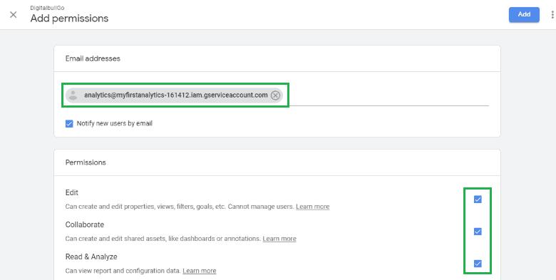 DigitalBull GO How to Integrate Google Analytics With DigitalBull GO 10