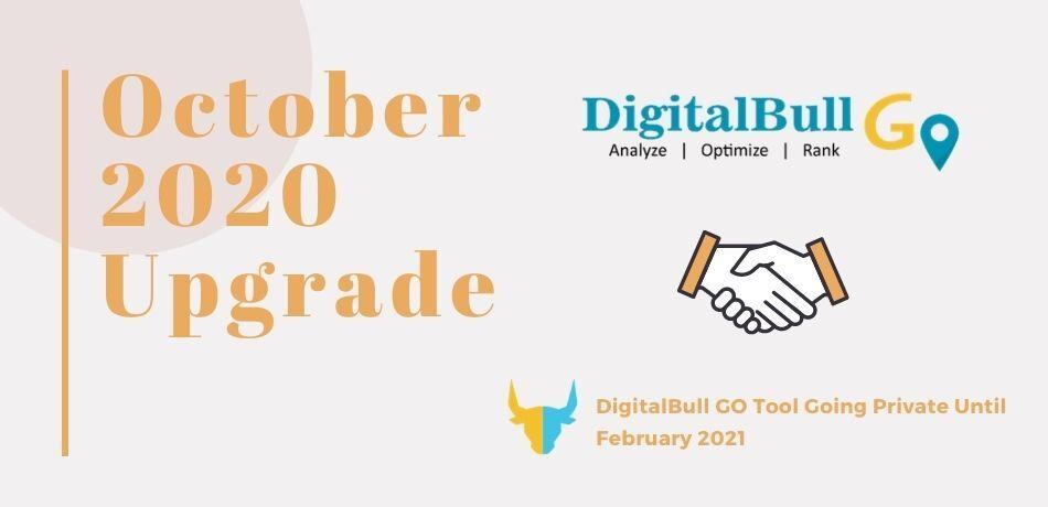 DigitalBull GO October 2020 Upgrade 1