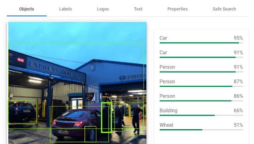 DigitalBull GO Use Google Vision API to Verify Image Information 2