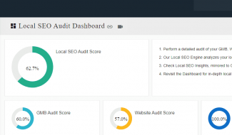 DBG Local SEO Audit Dashboard